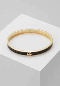 Tory Burch - KIRA HINGED BRACELET - Bracelet - gold-coloured/black - 0