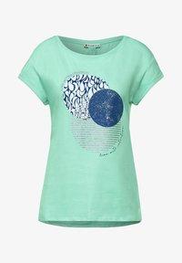 Street One - Print T-shirt - grün - 3