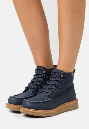 PIZARRA - Lace-up ankle boots - ocean arena