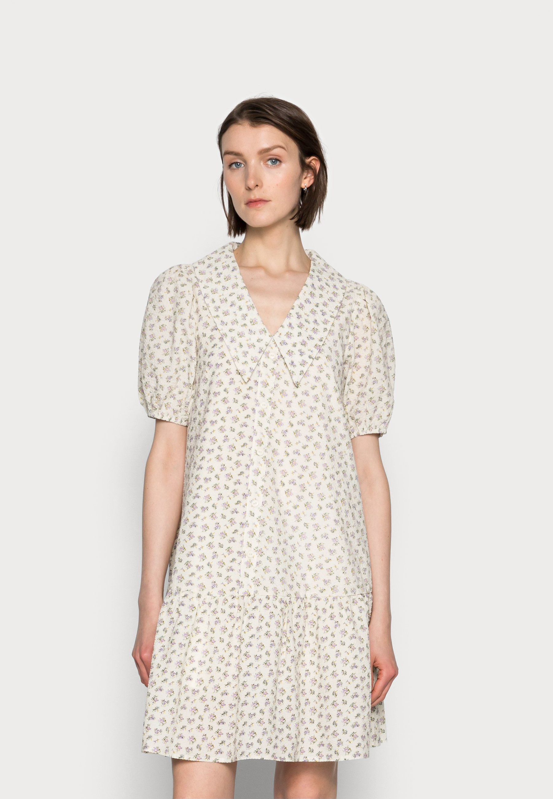 Women FLOREL DRESS - Shirt dress