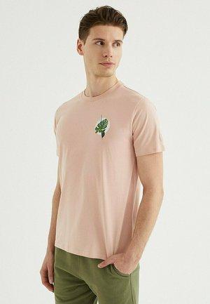 LEAF - Print T-shirt - misty rose