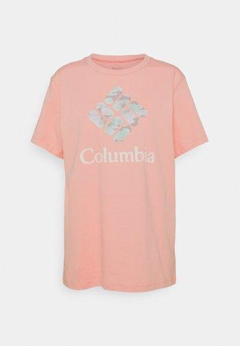 PARK™ RELAXED TEE - Printtipaita - faux pink/aqua tone