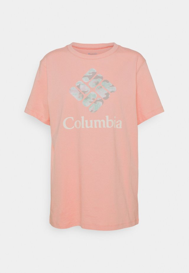 PARK™ RELAXED TEE - T-shirt con stampa - faux pink/aqua tone