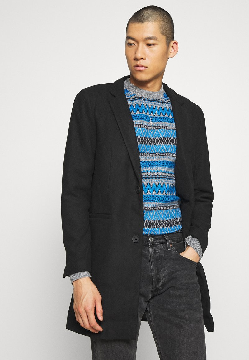 Only & Sons - ONSMAXIMUS COAT - Cappotto classico - black