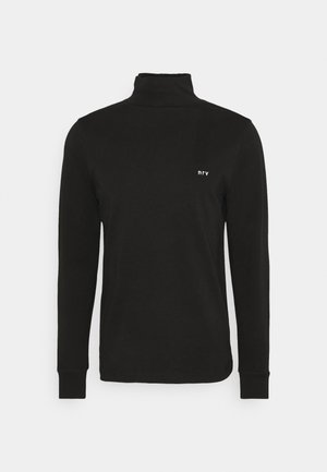FOSTER - Long sleeved top - black
