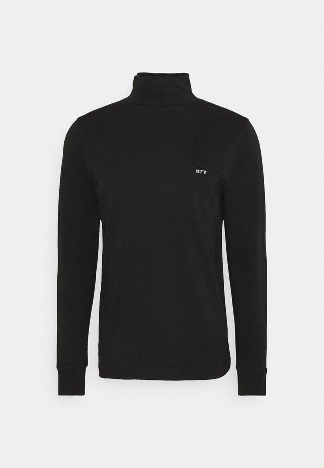 FOSTER - Bluzka z długim rękawem - black