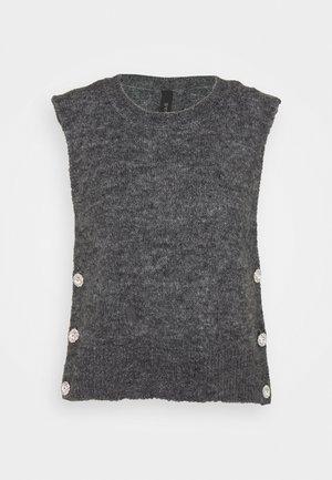 YASLINE - Svetr - dark grey melange