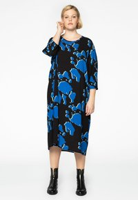 Yoek - Day dress - blue - 1