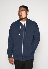 Pier One - Zip-up hoodie - dark blue - 5
