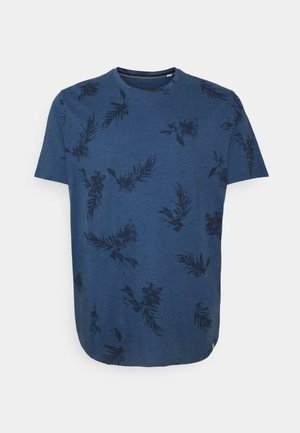JORCALI TEE CREW NECK - Print T-shirt - ensign blue