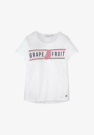 T-shirt print - kids cloud dancer white