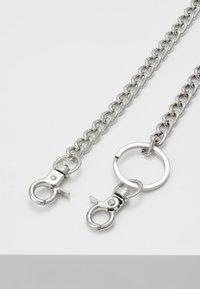 Burton Menswear London - TROUSER CHAIN - Nøgleringe - silver-coloured - 2