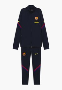 Nike Performance - FC BARCELONA DRY SET - Club wear - dark obsidian/deep royal blue/sonic yellow - 0