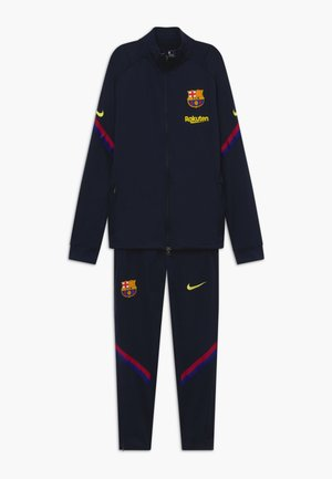 FC BARCELONA DRY SET - Club wear - dark obsidian/deep royal blue/sonic yellow