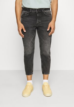 ONSAVI LIFE BEAM CROP  - Relaxed fit -farkut - black denim