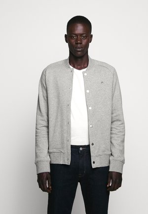 JASPAR SWEAT STRUCTURE - Zip-up hoodie - grey