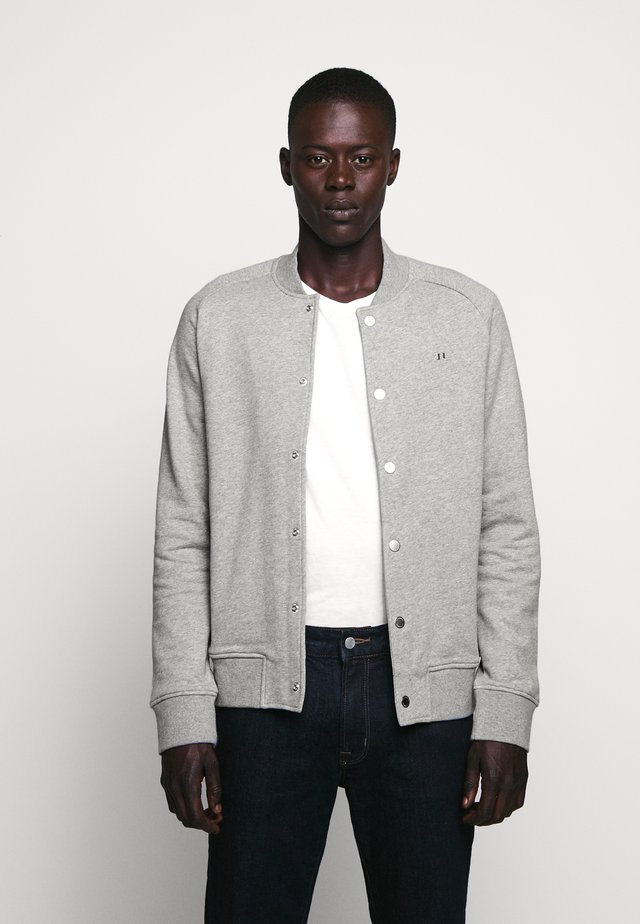 JASPAR SWEAT STRUCTURE - Collegetakki - grey
