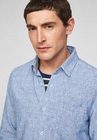 s.Oliver - Shirt - blue dobby - 5