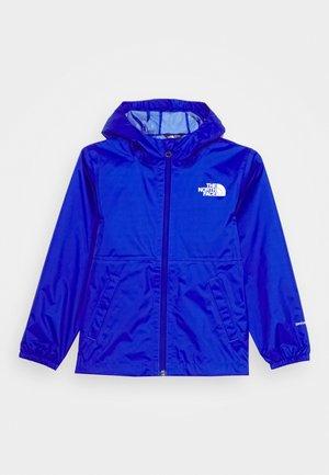 ZIPLINE RAIN JACKET - Giacca hard shell - blue