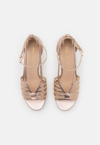 Anna Field - LEATHER - High heeled sandals - rose gold - 5