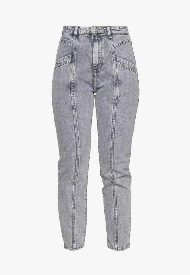 Relaxed fit jeans - gray
