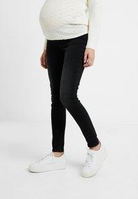 Esprit Maternity - Jeans slim fit - black darkwash - 0