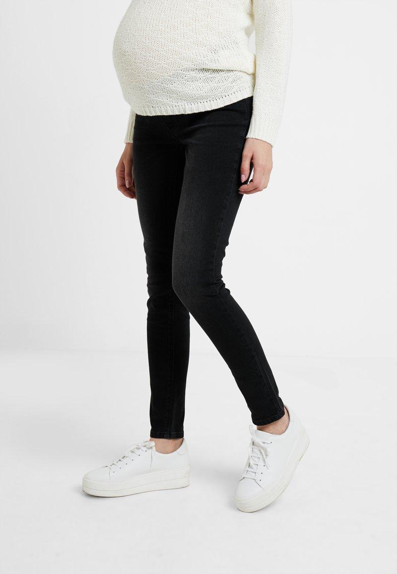 Esprit Maternity - Jeans slim fit - black darkwash