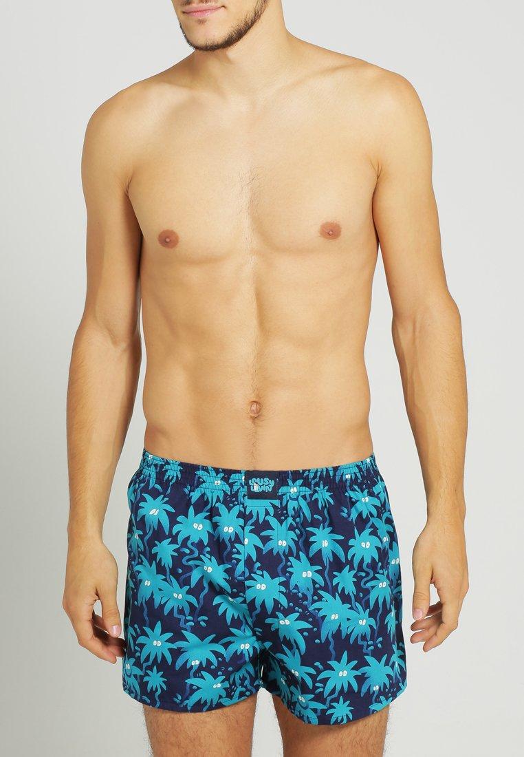 Lousy Livin Underwear - PALMS - Boxer shorts - navy