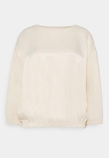 KALOU - Long sleeved top - pearl mélange