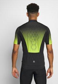 LÖFFLER - BIKE EVO - T-Shirt print - black/light green - 2
