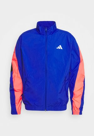 URBAN - Training jacket - royal blue/signal pink/black