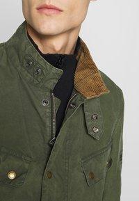 Barbour International - COLOURED DUKE CASUAL - Summer jacket - racing green - 6