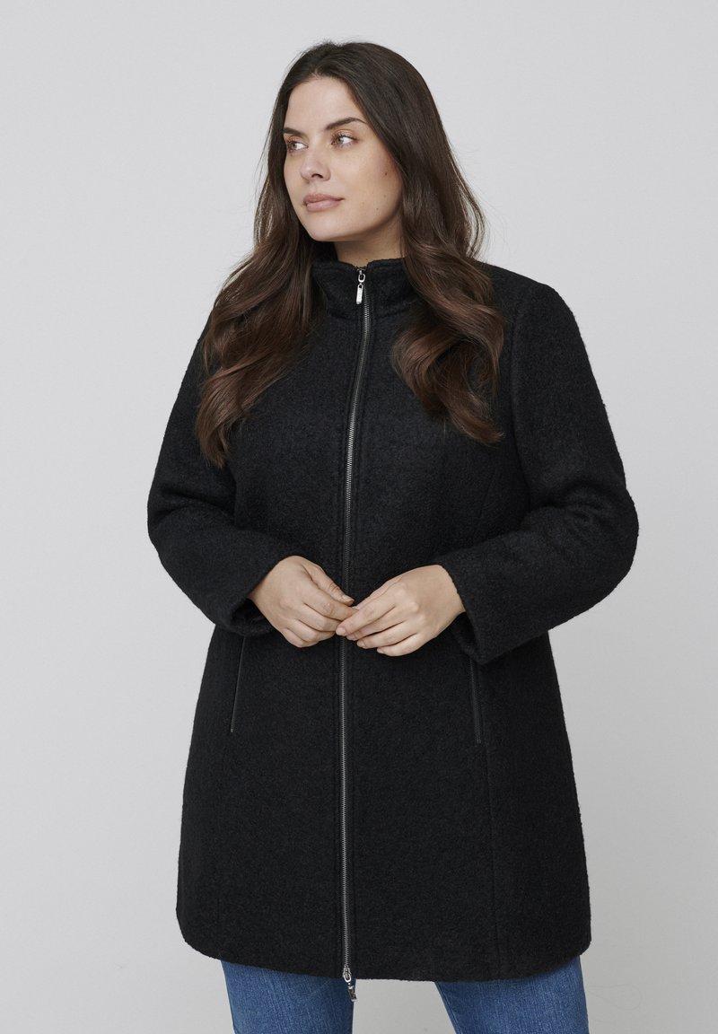 Zizzi - Cappotto classico - black