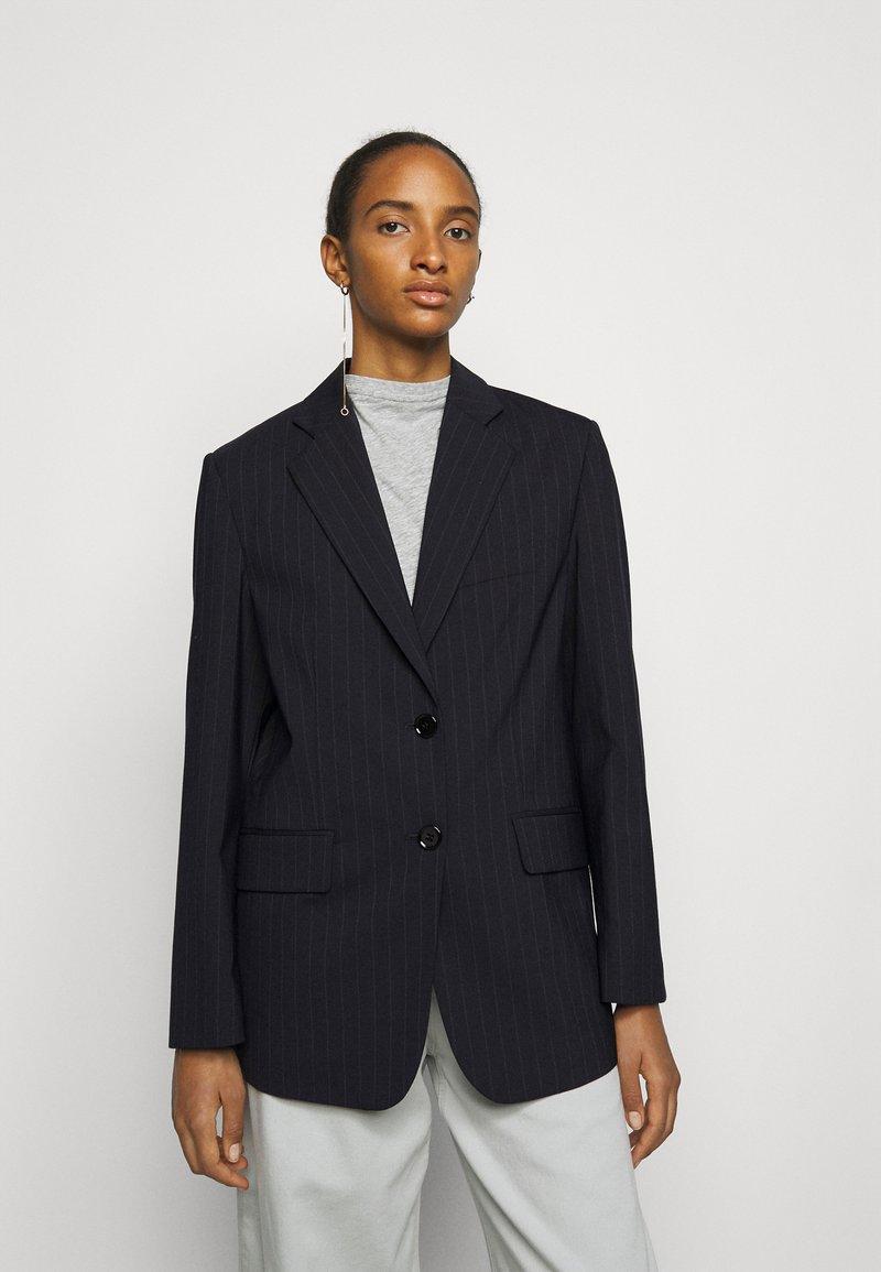 MM6 Maison Margiela - Short coat - dark blue