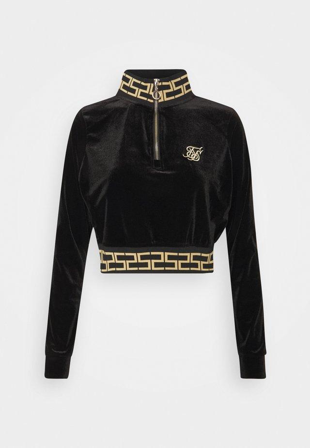 LUXURY TRACK - Sweatshirt - black