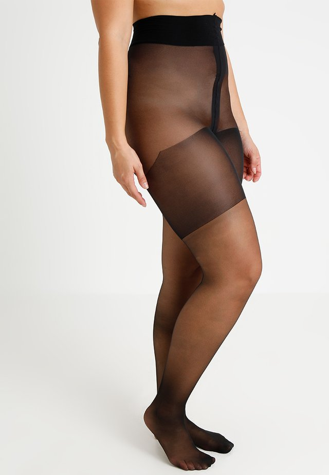 20 DEN CURVY - Tights - black