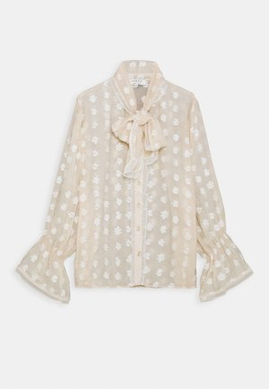PURSUITS OVERSIZED BOW BLOUSE - Blouse - cream
