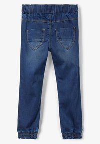 Name it - Straight leg jeans - dark blue denim - 1