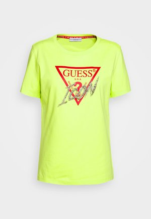 ICON  - Print T-shirt - yellow glow