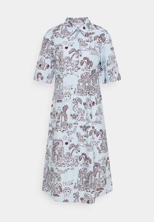 ALOE DRESS - Shirt dress - light blue