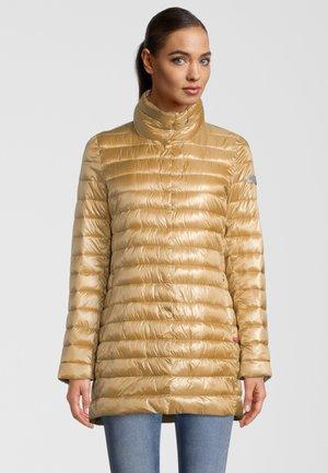 MIT STEHKRAGEN - Winter coat - golden cactus