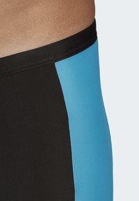 adidas Performance - FITNESS THREE-SECOND SWIM BRIEFS - Swimming trunks - black - 4