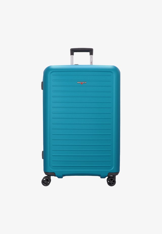 Wheeled suitcase - caribbean blue