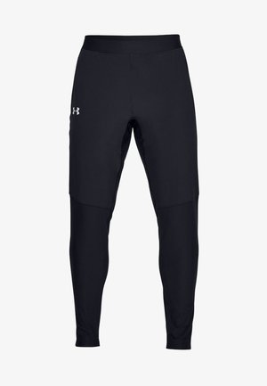 QUALIFIER  - Tracksuit bottoms - black