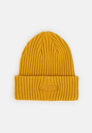 GARMENT DYE BEANIE UNISEX - Lue - regular yellow