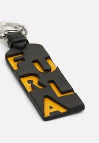 Furla - KEYRING UNISEX - Klíčenka - nero/ocra - 3
