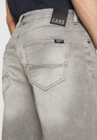 Cars Jeans - SEATLE - Jeansshorts - grey used - 3