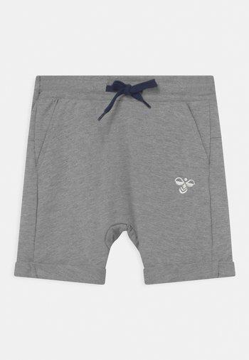 FLICKER UNISEX - Sports shorts - grey melange