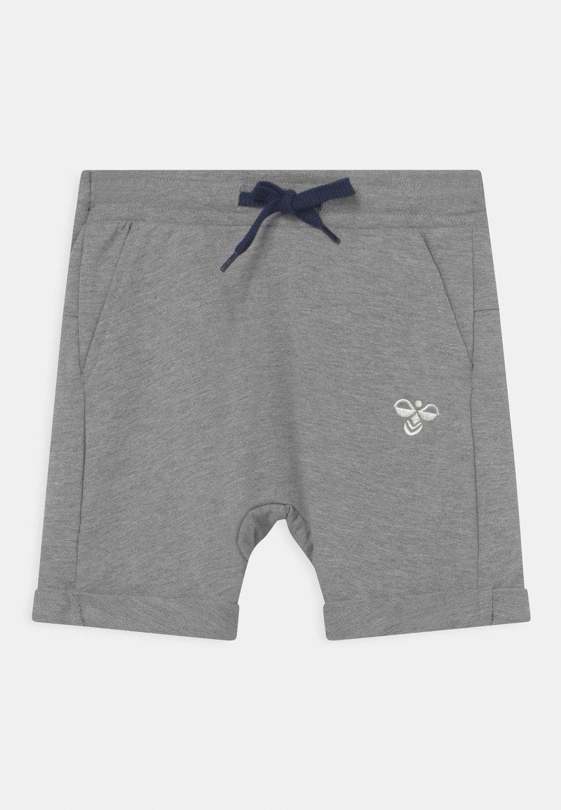 Hummel - FLICKER UNISEX - Sports shorts - grey melange