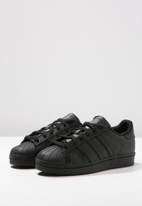 adidas Originals - SUPERSTAR FOUNDATION - Trainers - core black - 2